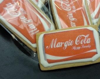 Coke Custom Cookies