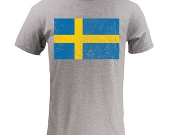 Flag of Sweden - Sport Grey