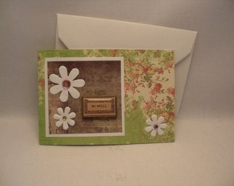 Any Occassion - Gift Card Holder (Mini card)