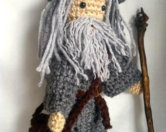 Crochet Gandalf Doll - The Lord of the Rings