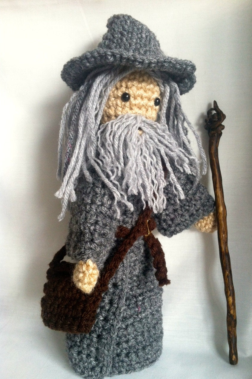 Crochet Gandalf Doll The Lord of the Rings