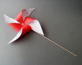 Valentine's Pinwheels