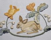 Raised Embroidery Kit - BROTHER RABBIT