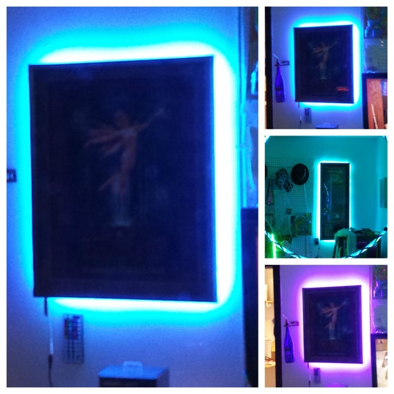 Picture Artwork Frame LED Strip Light Kit Battery Operated