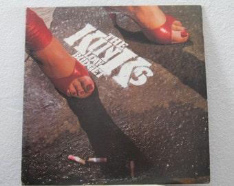 "The Kinks - ""Low Budget"" vinyl record"