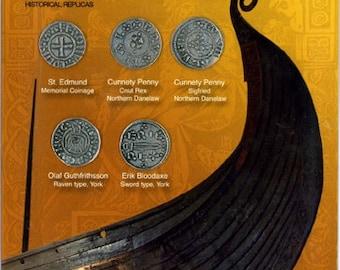 DM 317 Viking Coins of England Set 5x7