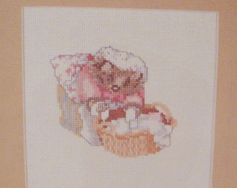 cross stitch beatrix potter mrs tiggy winkle  CHART INSTRUCTIONS ONLY lakeland artist new