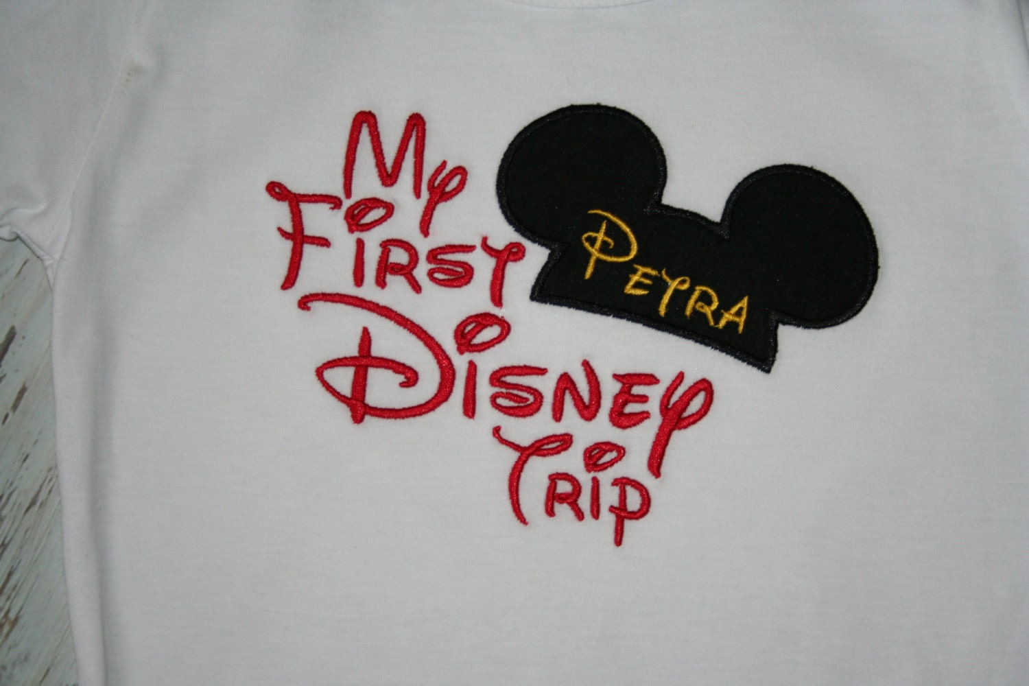 My First Disney Trip t shirt by SewciallyChic on Etsy