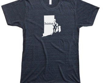Homeland Tees Men's Rhode Island Home T-Shirt