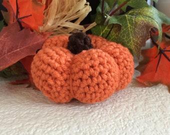 Miniature Crochet Pumpkin
