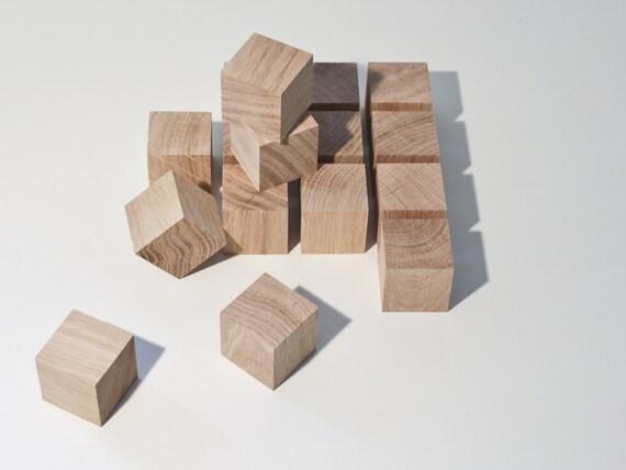 Cube bois brut pas cher for Boite en bois a decorer pas cher