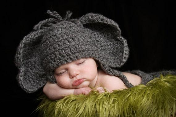 Crochet Elephant Hat Pattern Pattern Elephant Baby Hat