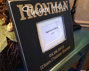 5x7 Ironman Frame - Personalized
