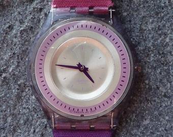 Swatch Swiss PINK PANTHER PETROLEUM
