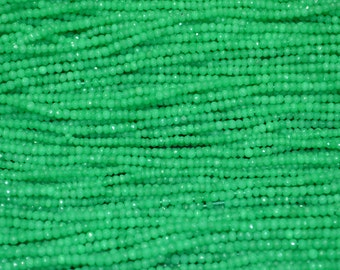 AAA Quality Mystic Crysoprase Faceted 3-4 mm
