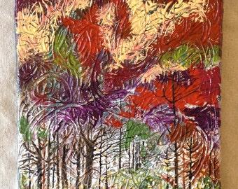 Autumn Forest II (dark)
