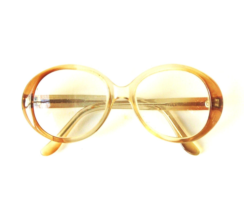 vintage eyeglasses rounded s glasses retro 1970s