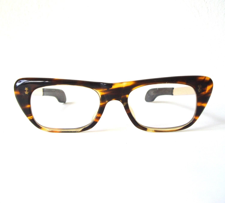 vintage eyeglasses 1950s tortoise frames swank spectacles