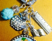 Teacher Key Chain End of year gift personalized you Choose Name Gorgeous