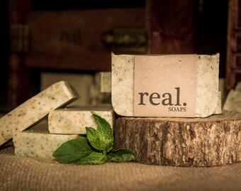Wintermint Soap, Peppermint Soap, Spearmint Soap, Mint Soap, Natural Soap, Vegan Soap,Bar Soap, Gift, Peppermint,Green Tea, Cooling