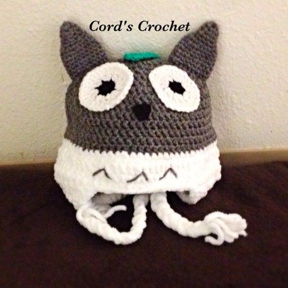 Crochet Pattern Totoro Hat : Totoro Crochet Hat