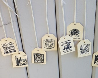 Italy Wine theme favors tags assorted small Set of 20 grapes wine bottles tuscan theme bombonieres