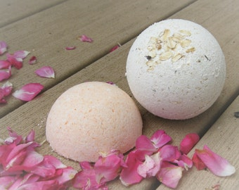 Luxurious Bath Bombs--all natural spa treatment