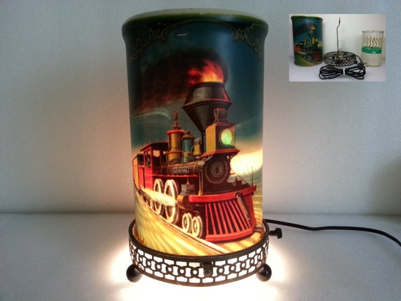 John Deere Motion Lamp : Vintage econolite john bull locomotive train motion lamp