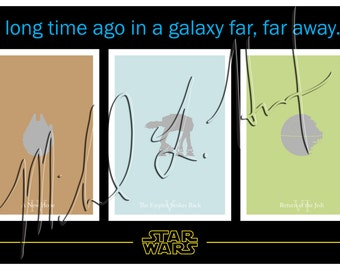 Star Wars Trilogy Minimalist Print