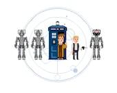 Custom Pixel (8 bit) Doctor Who Artwork featuring YOU!!