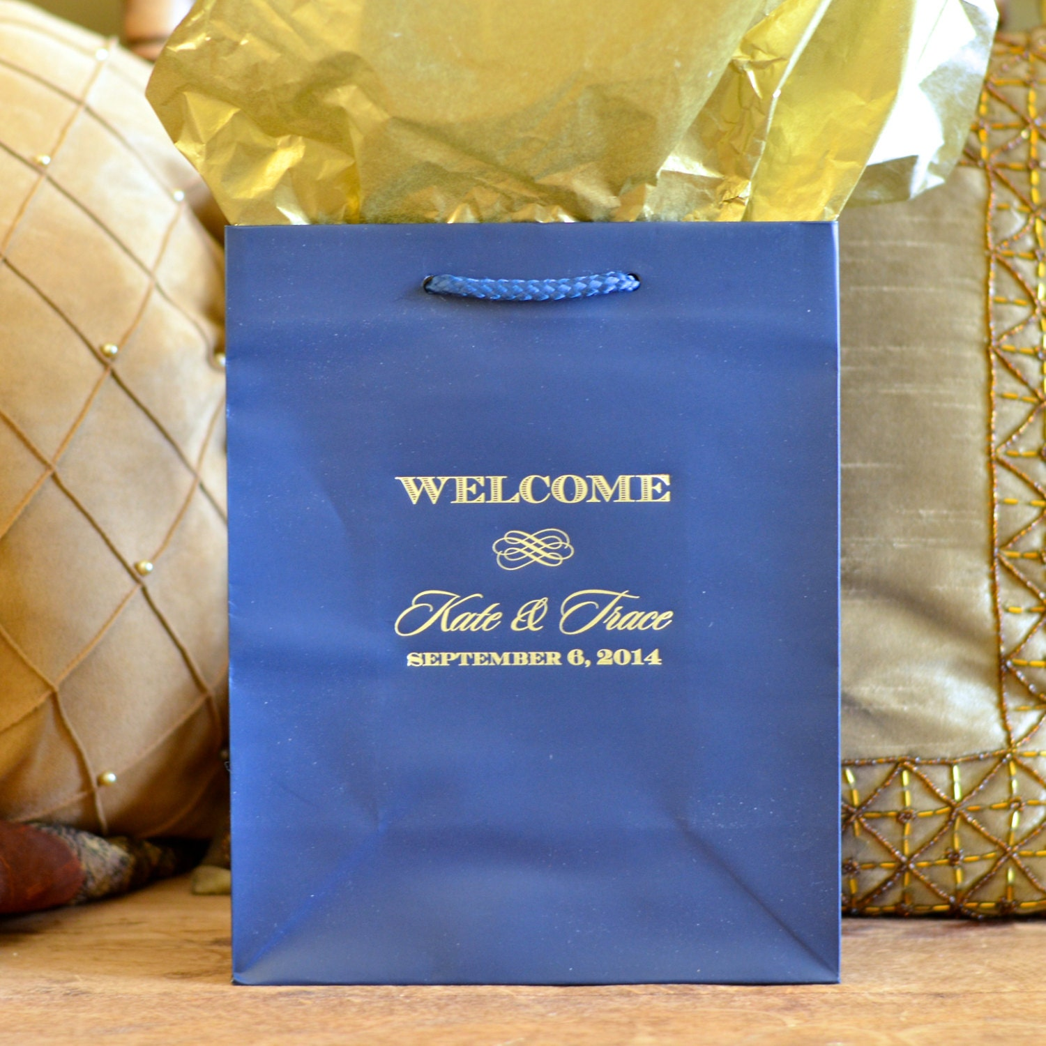 personalized wedding welcome gift bags for oot by