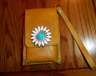 Android/ iphone wallet / wristlet purse