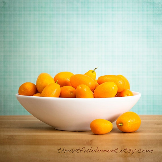 Fruit kitchen d cor canvas kitchen art orange citrus print for Fruit orange decoration