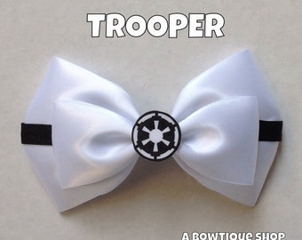 trooper hair bow
