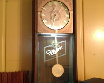 Lighted MILLER High Life CLOCK