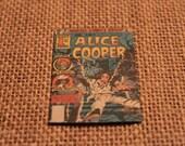 Vintage Alice Cooper Comic Magnet