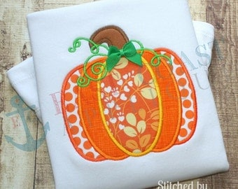 PUMPKIN PANEL machine embroidery design