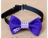 TCU Dog bow for collar