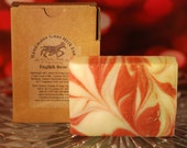 English Rose Cold Processed Handmade Goat Milk Soap 3 BARS FOR 15 DOLLARS