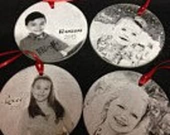 Give something unique this year. Give a personalized ornament with a special message to convey your feelings.