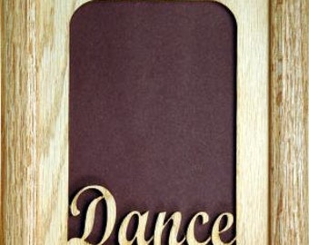 Dance Picture Frame 5x7