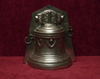 antique chocolate mold Easter Bell B