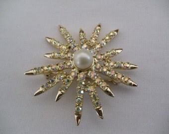 Vintage Starburst  Pin