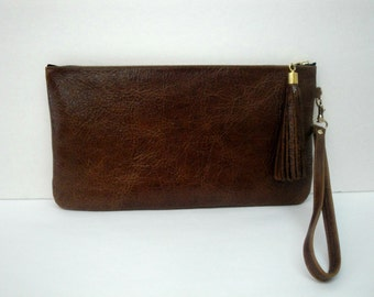 Leather Clutch,Purse,Wallet,Pouch,