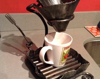 Apocalyptic Stainless Steel Coffee Pour Over