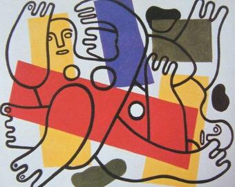 Reduced Price. Art: Fernand Leger, The Later Years      Paperback Exhibition Catalogue Whitechapel Art Gallery 1987 Editor Nicholas Serota