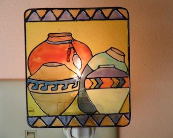 Southwest Pottery Night Light