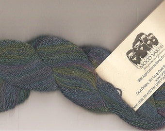 70/20/10 Qiviut-Merino-Silk, Lupine Lace weight, 300yds/oz, 1 ounce skein