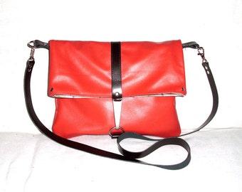 Nappa leather envelope bag D & D