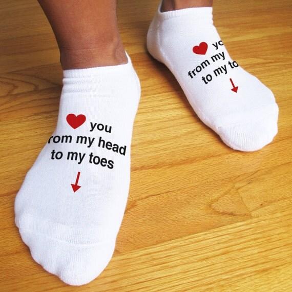 naked male sock lover